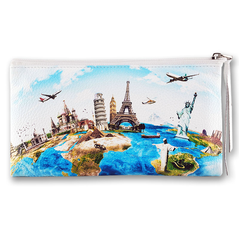 "Косметичка QOPER Cosmetic bag ""World"""