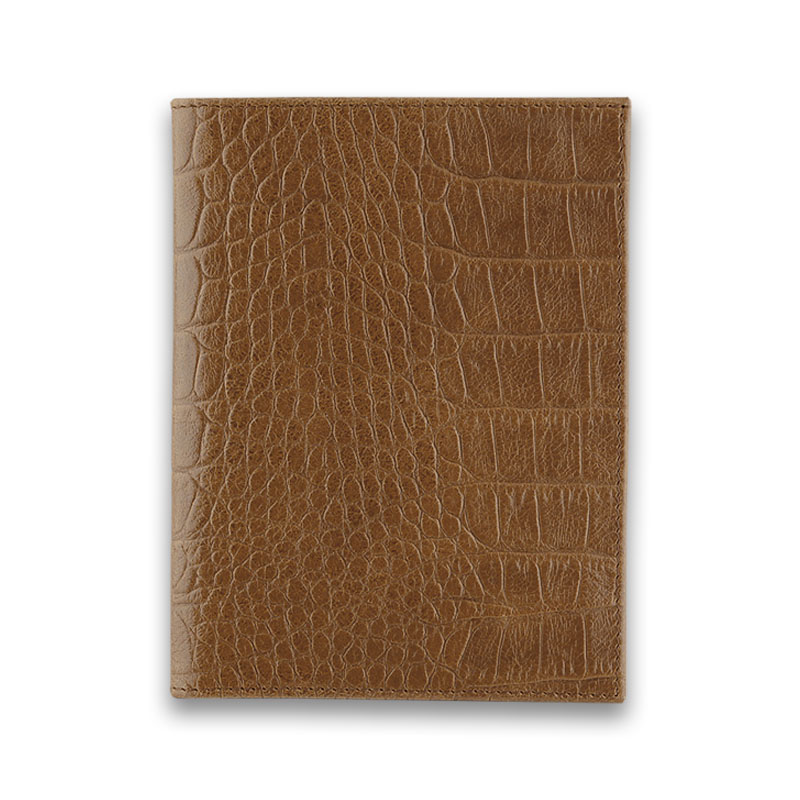 Бумажник водителя QOPER Drive bifold black brown croco