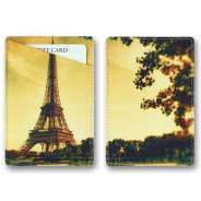 "Кардхолдер QOPER Credit card holder ""Eiffel Tower"""